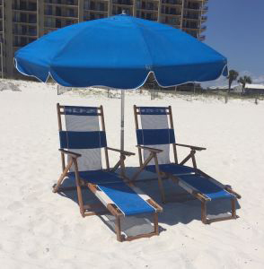 Chair Set Beach Rental - Ike's Beach Service